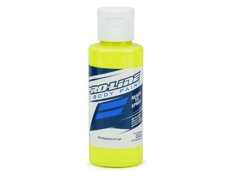Pro Line Fluorescent Yellow RC Body Paint PRO632802