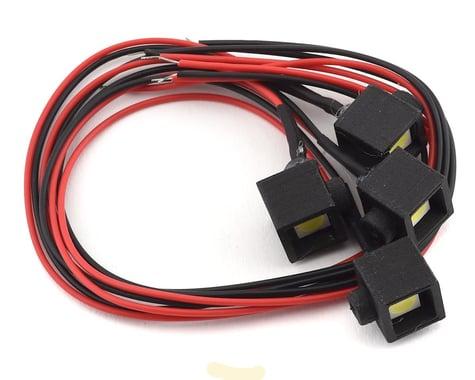 Powershift RC Technologies Night Killer Series Square Rock Light Pods (4)