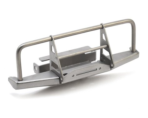RC4WD BlackJack 1/18 Front Bumper with Winch Silver RC4VVVC0549