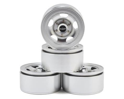 """RC4WD Breaker 1.55"""" Beadlock Wheels (Silver) (4)"""