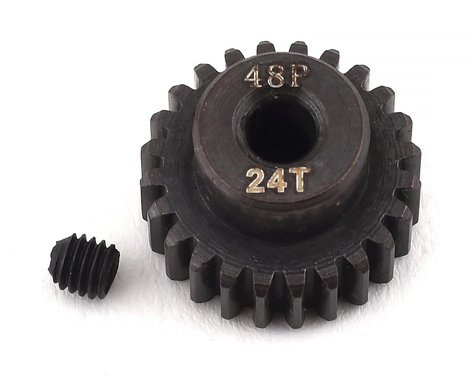Ruddog Steel 48P Pinion Gear (3.17mm Bore) (24T)