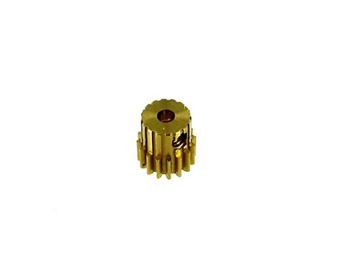 Redcat Racing Brass Pinion Gear (16T .6 Module) RED11146