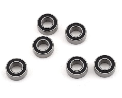 Redcat Racing 4x8x3mm Rubber Sealed Ball Bearings (6) RER11371