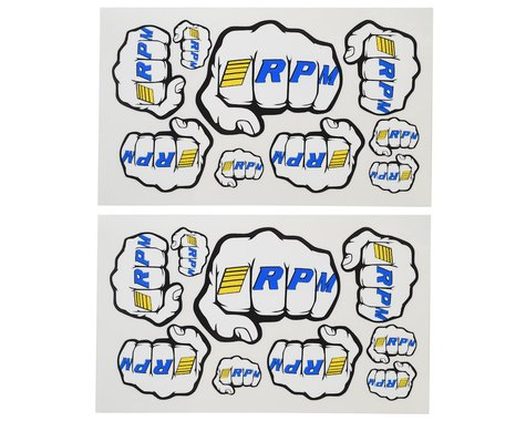 RPM Fist Logo Decal Sheets RPM70020