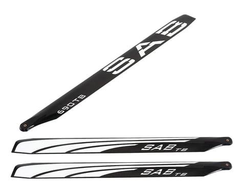 SAB Goblin 690mm Thunderbolt TBS Carbon Fiber Main Blade Set (3)