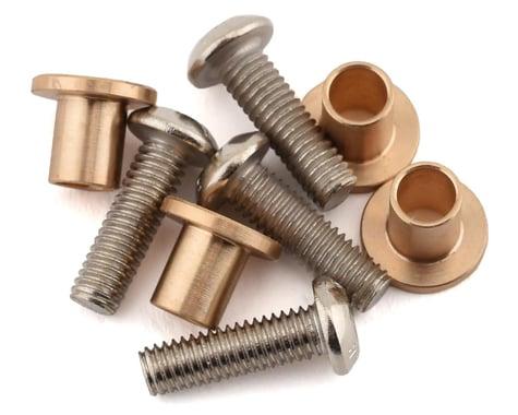 Samix SCX10 II Brass Knuckle Bushing Set (4)
