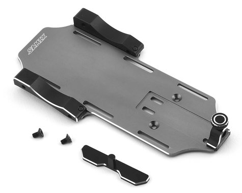 Samix SCX10 II Samix Forward Adjustable Battery Tray Kit (Grey)