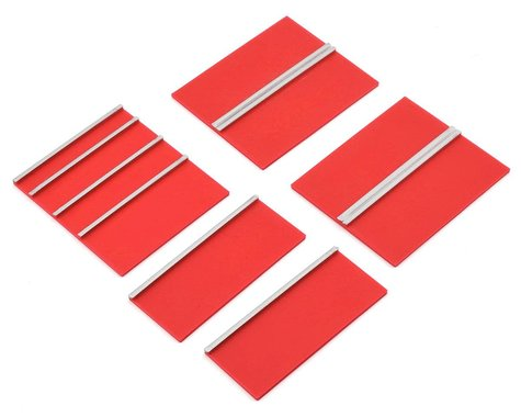 Scale By Chris Scale Shop Series Lower Cabinet Door Face Plates (Red) (5)