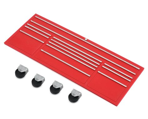Scale By Chris Scale Shop Series Classic XL Tool Box Face w/Casters (Red)
