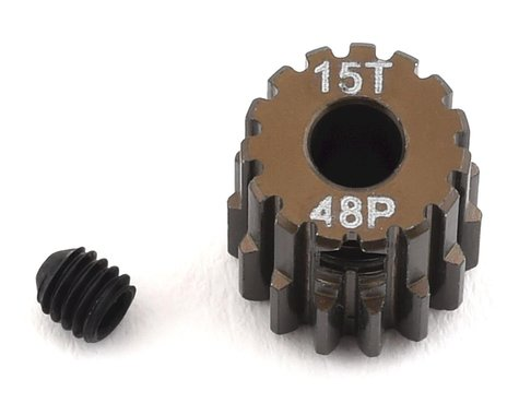 Serpent Aluminum 48P Pinion Gear (15T) (3.17mm Bore)