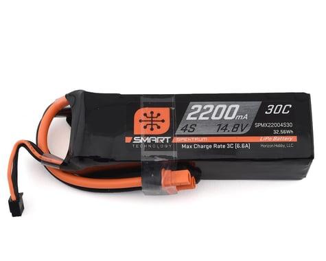 Spektrum 2200mah 4S 14.8V 30C Smart LiPo with IC3 SPMX22004S30