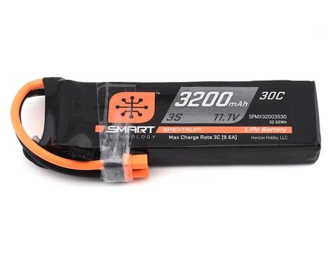 Spektrum 3200mah 3S 11.1V 30C Smart LiPo with IC3 SPMX32003S30