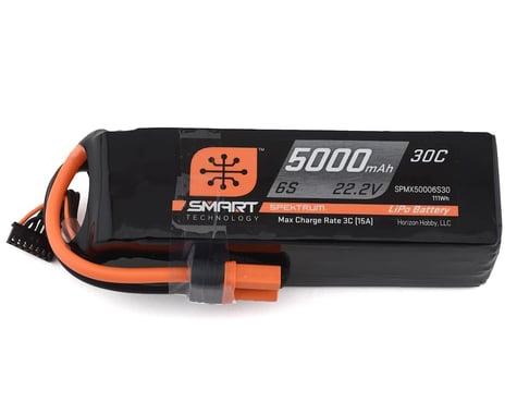 Spektrum 5000mah 6S 22.2V 30C Smart LiPo with IC5 SPMX50006S30