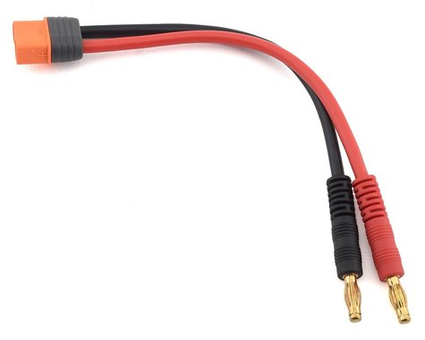 """Spektrum IC3 6"""" Device Charge Lead 13AWG & 4mm Bullets SPMXCA304"""