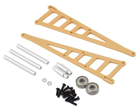 ST Racing Slash/Rustler/Bandit Alum Wheelie Bar Kit Gold STRST3678WD