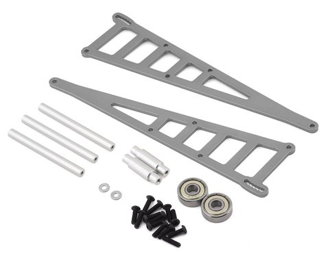 ST Racing TRA Alum Adjustable Wheelie Bar Kit Gray STRST3678WGM