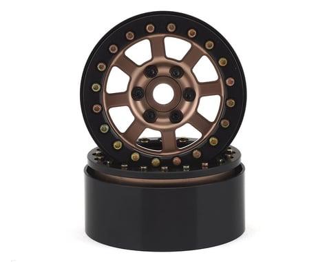 SSD RC Assassin 1.9 Beadlock Crawler Wheels (Bronze) (2)