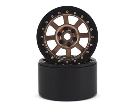 SSD RC 2.2 Wide Assassin Beadlock Wheels (Bronze) (2)