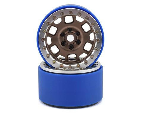 SSD RC 2.2 Contender PL Beadlock Wheels (Bronze)