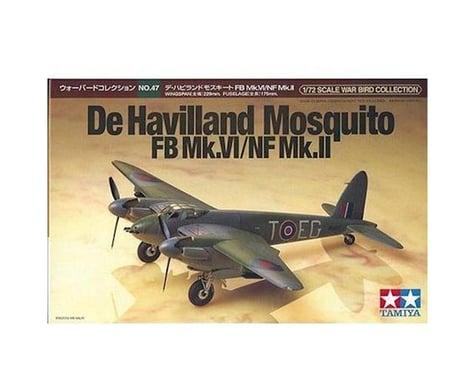 Tamiya 1/72 Dehavilland Mosquito Model Airplane TAM60747