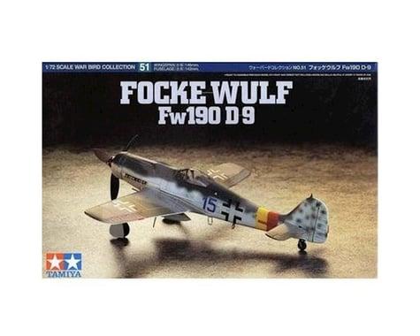 Tamiya 1/72 Focke-Wulf FW190 D-9 Model Airplane TAM60751