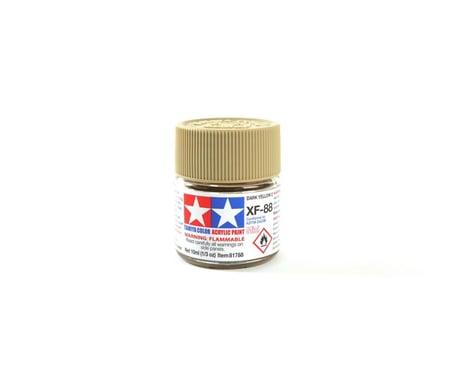 Tamiya Acrylic Mini XF-88 Dark Yellow 2 10ml Bottle TAM81788