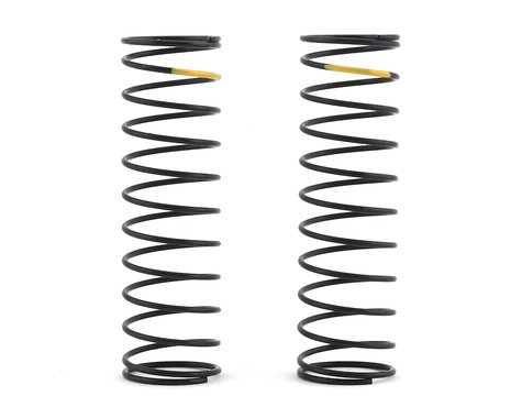 Team Losi Racing 12mm Rear Low Frequency Springs Yellow TLR233057