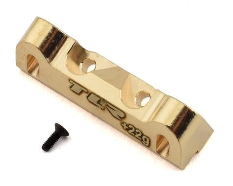 Team Losi Racing 22 5.0 +22g LRC Brass Hinge Pin Brace TLR334053