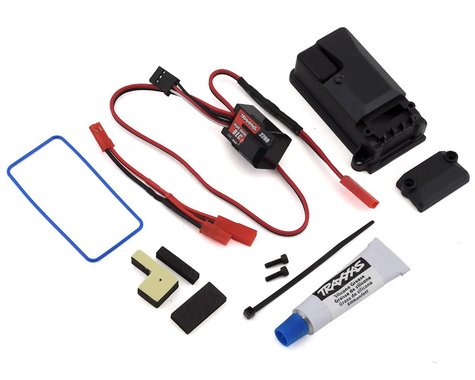 Traxxas Complete BEC with Receiver Box Cover & Seals TRA2262