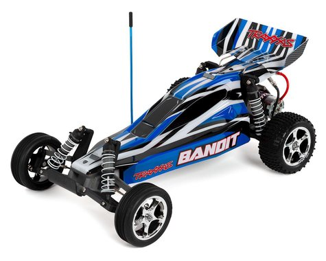 Traxxas Bandit 1/10 Electric Buggy RTR with ID Technology (BlueX)