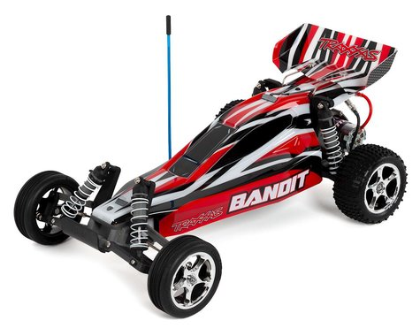 Traxxas Bandit 1/10 Electric Buggy RTR with ID Technology (RedX)