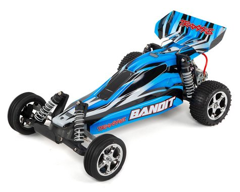 Traxxas Bandit 1/10 Buggy RTR with TQ 2.4GHz Radio (Blue)