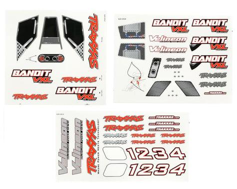Traxxas Decal Sheets Bandit VXL TRA2413R
