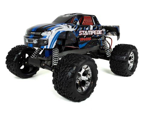 Traxxas Stampede Monster Truck with TQ 2.4GHz Radio System (Blue)