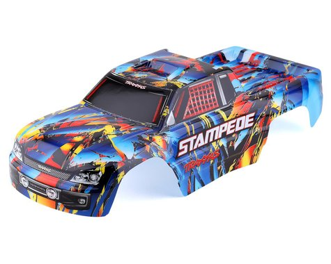Traxxas Stampede Painted Rock n' Roll Body with Decals TRA3648
