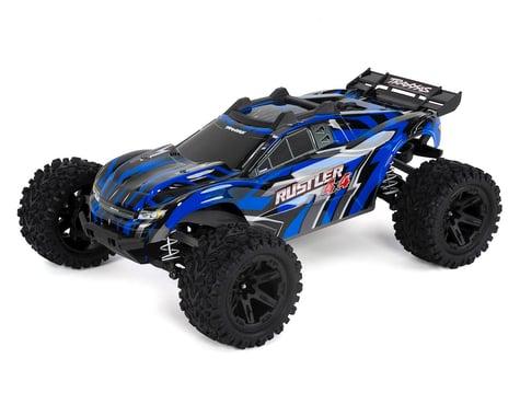 Traxxas Rustler 4X4 1/10-scale 4WD Stadium Truck (Blue)