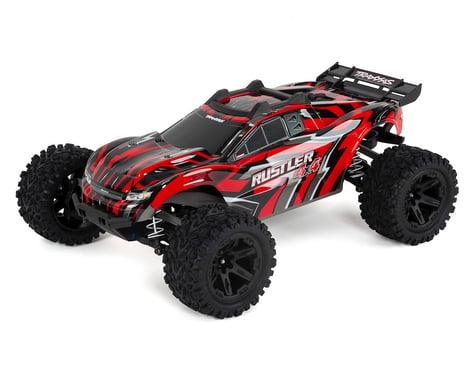 Traxxas Rustler 4X4 1/10-scale 4WD Stadium Truck (Red)