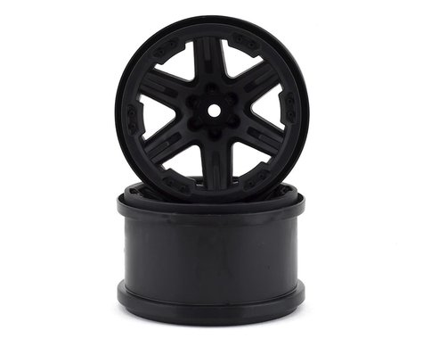 """Traxxas Rustler 4X4 2.8"""" Wheels Black TRA6772"""