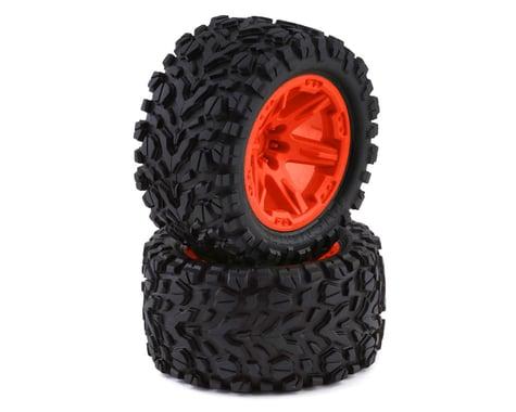 """Traxxas Talon Exteme 2.8"""" Tires & RXT Wheels, Orange TRA6773A"""
