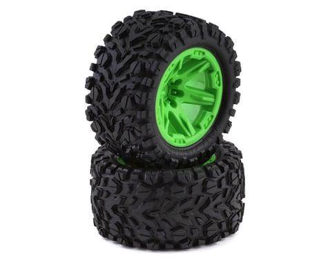 "Traxxas Talon Exteme 2.8"" Tires & RXT Wheels, Green TRA6773G"