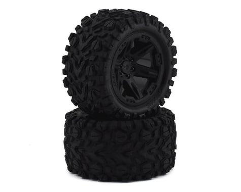 """Traxxas Rustler 4x4 Rear Mounted 2.8"""" Tires & Wheels TRA6774"""