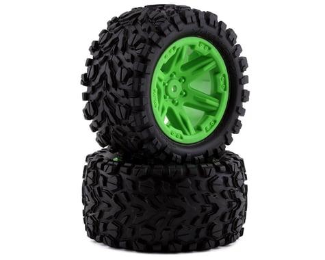 "Traxxas Rr Talon Exteme 2.8"" Tires & RXT Wheels, Green TRA6774G"