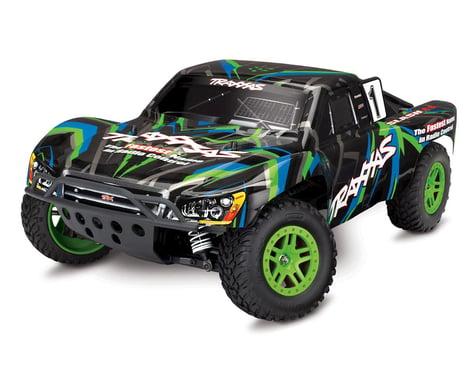 Traxxas Slash 4x4 1/10 4WD Short Course Truck (Green)