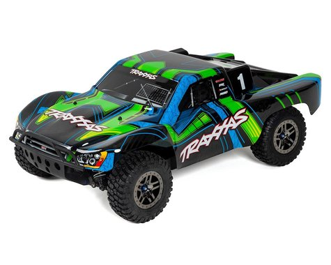 Traxxas Slash 4X4 Ultimate 1/10 Scale 4WD Electric Short Course Truck (Green)