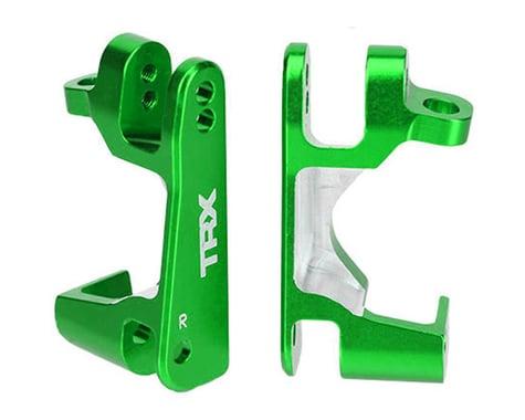 Traxxas Aluminum Left/Right Caster Blocks, Green TRA6832G
