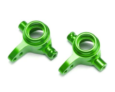 Traxxas Aluminum Left/Right Steering Blocks, Green TRA6837G