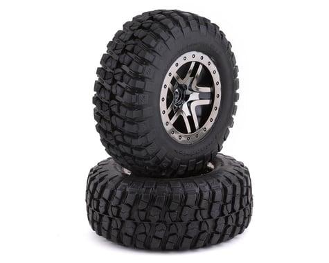 Traxxas BFGoodrich Mud TA Rear Tires (2) (Black Chrome) (S1)