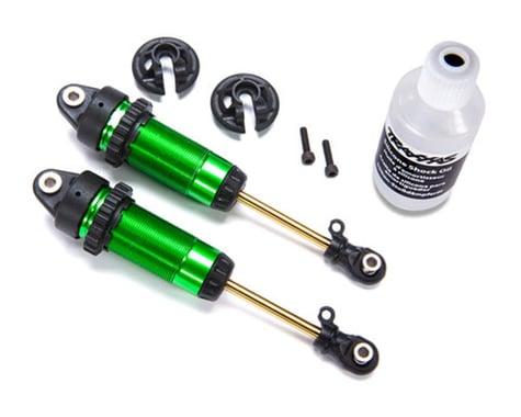 Traxxas Rustler/Slash 4x4 GTR XX-Long Shocks, Green TRA7462G
