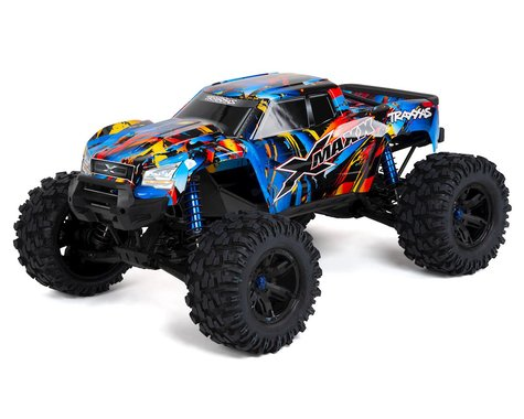 Traxxas X-Maxx 8s-Capable Brushless 4WD Electric Monster Truck (Rock n Roll)