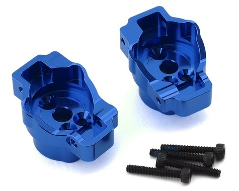 Traxxas TRX-4 L/R Rear Portal Drive Axle Mounts Blue TRA8256X